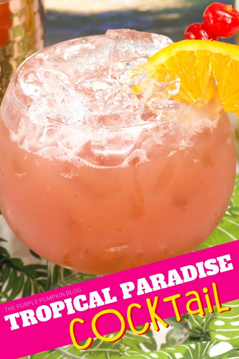 Tropical Paradise Cocktail