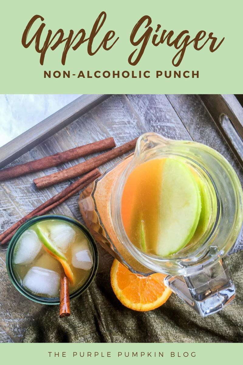 Apple Ginger Non-Alcoholic Punch