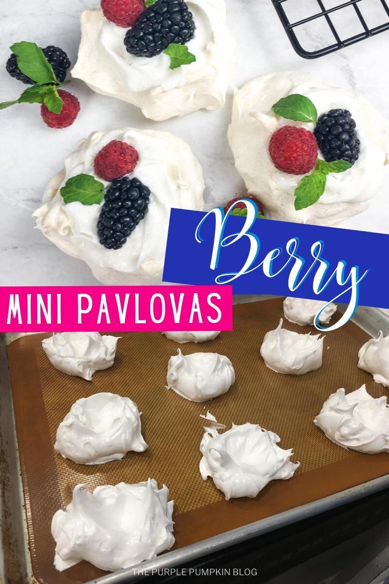 Berry Mini Pavlovas