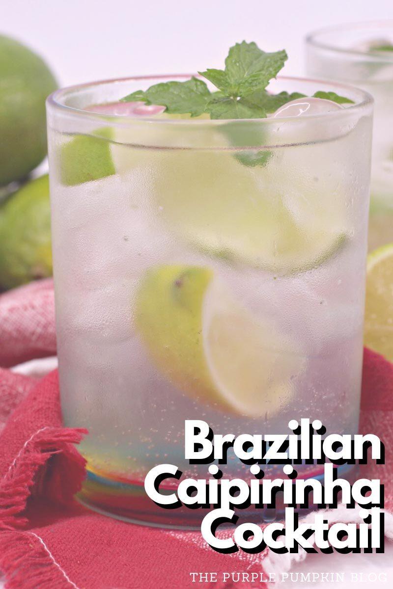 Brazilian Caipirinha Cocktail