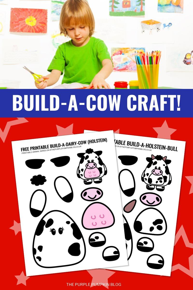 Build A Cow Craft