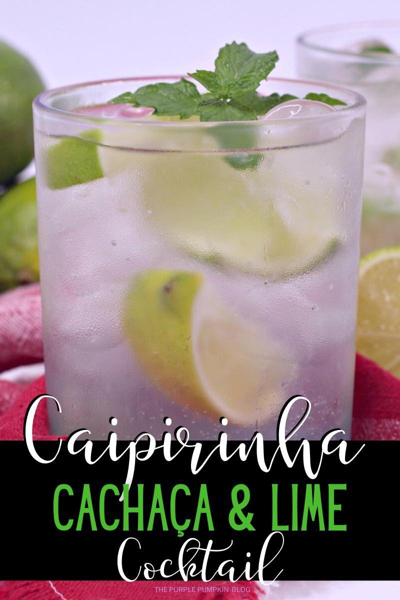 Caipirinha Cachaca & Lime Cocktail