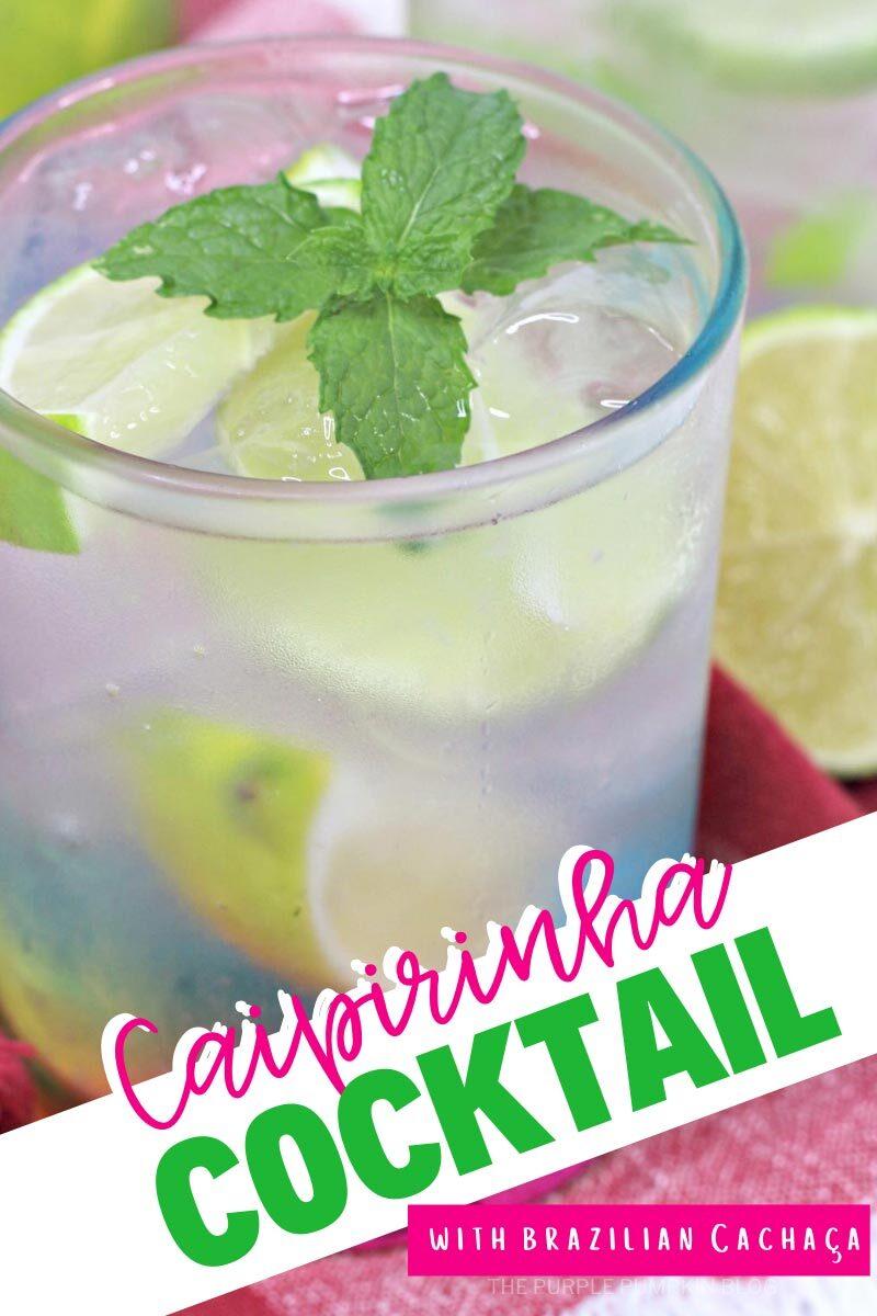 Caipirinha Cocktail with Brazilian Cachaca
