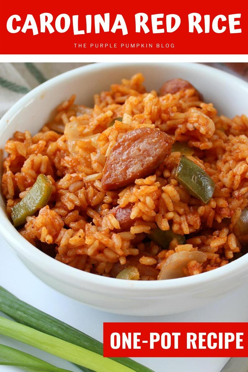 Carolina Red Rice One-Pot Recipe