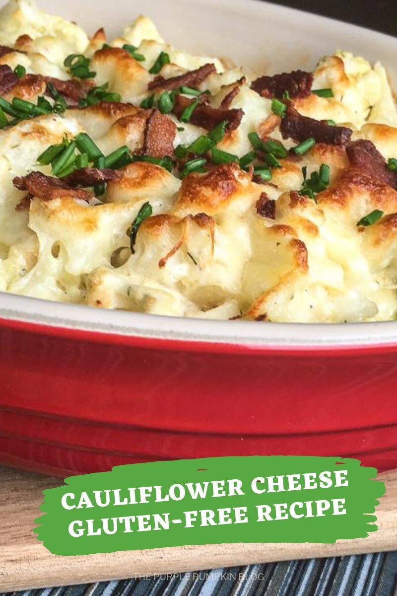 Cauliflower Cheese Gluten-Free Recipe