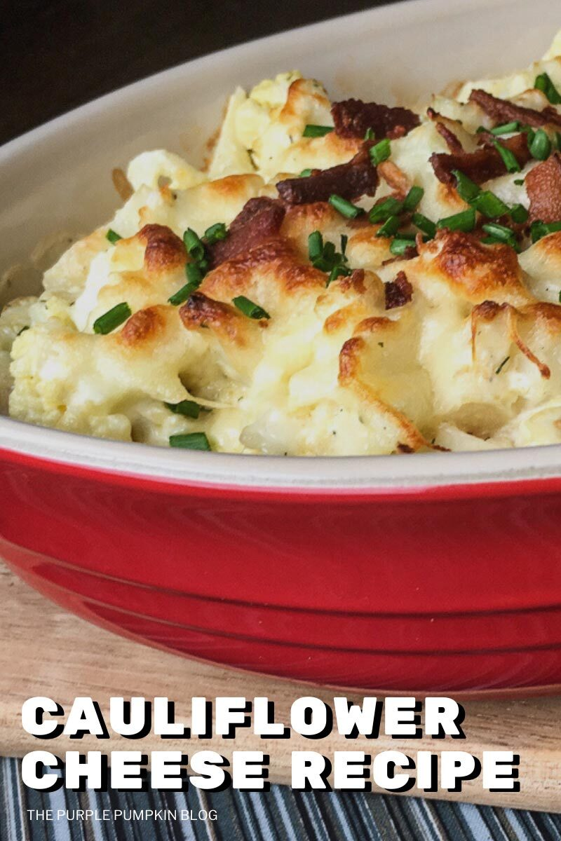 Cauliflower Cheese Recipe