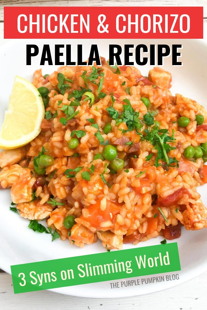 Chicken & Chorizo Paella Recipe - 3 Syns on Slimming World
