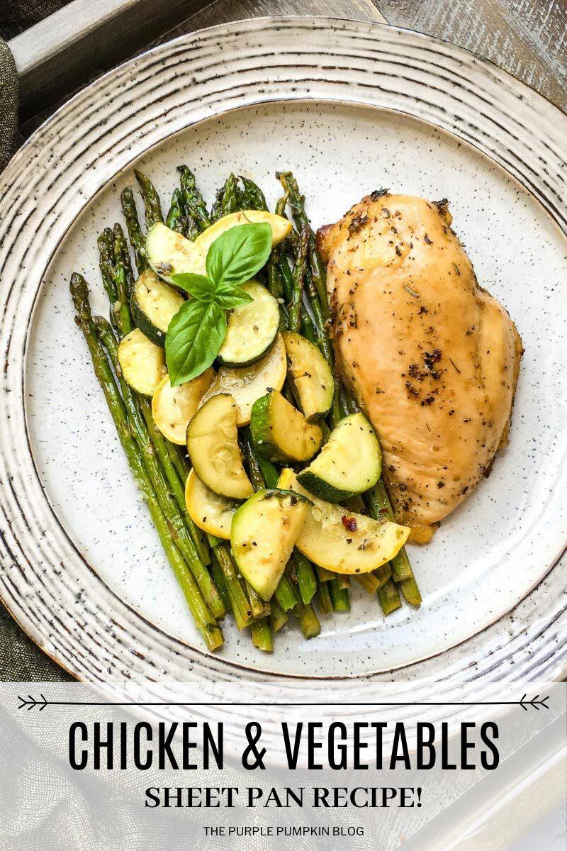 Chicken & Vegetables Sheet Pan Recipe