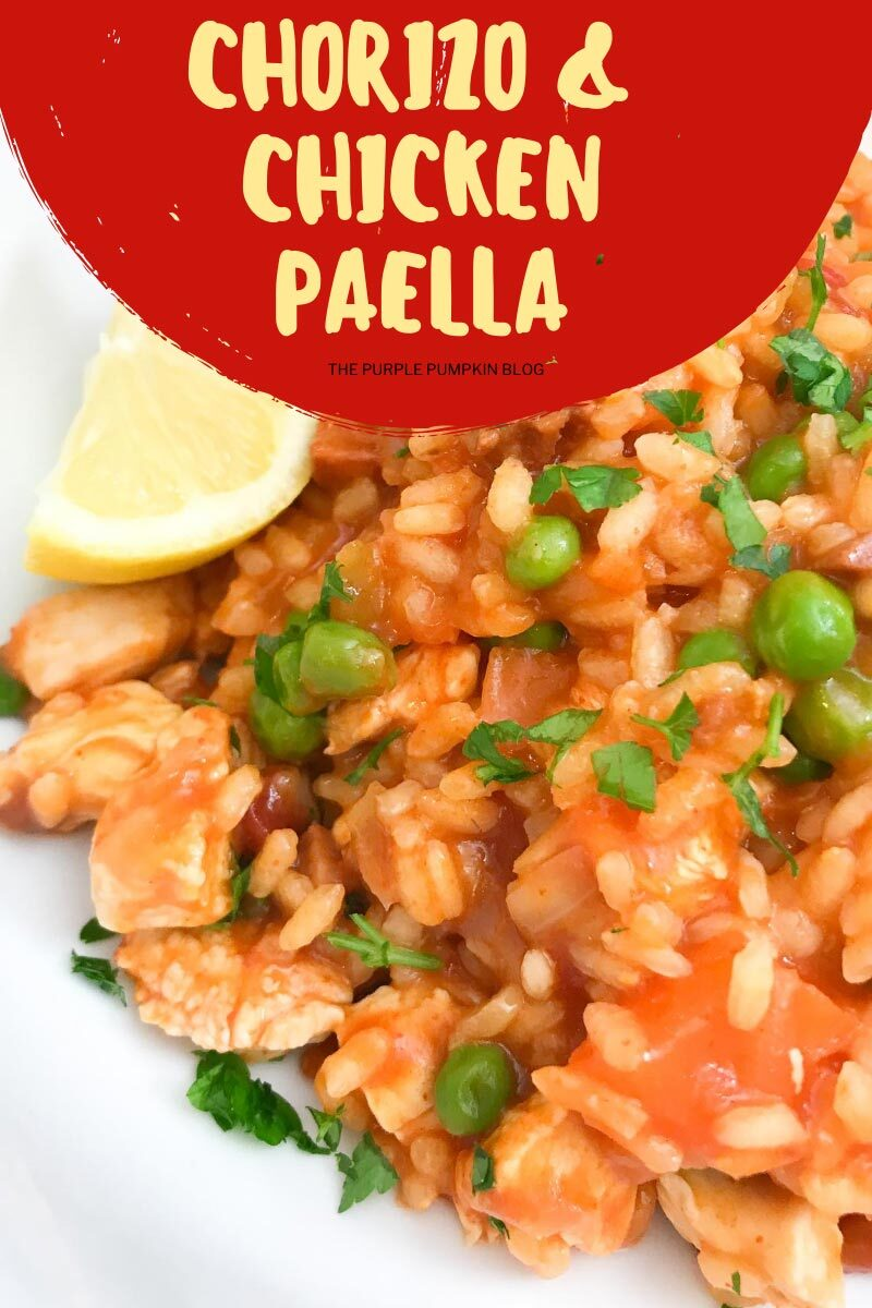 Chorizo & Chicken Paella