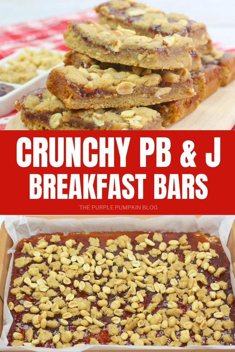 Crunchy PB&J Breakfast Bars Recipe