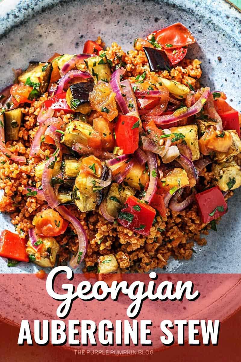 Georgian-Aubergine-Stew