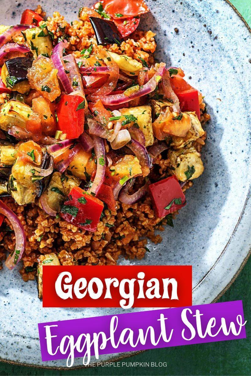 Georgian Eggplant Stew