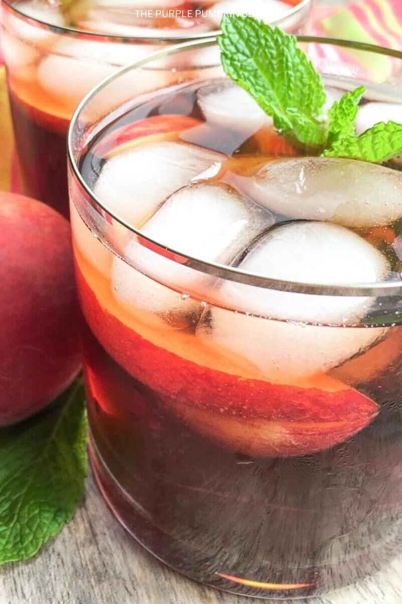Ginger Peach Iced Tea Recipe