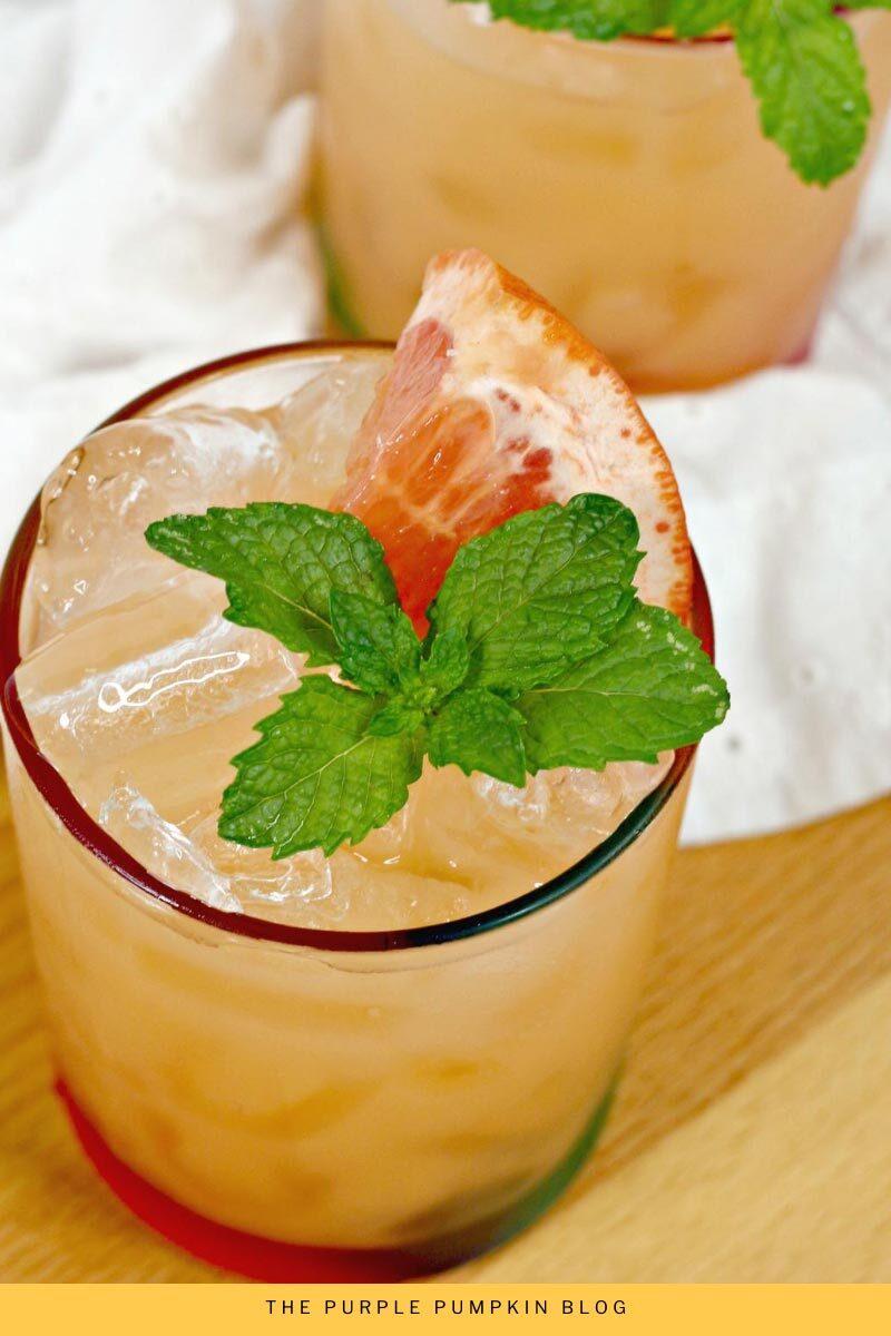 Grapefruit Screwdriver Cocktail