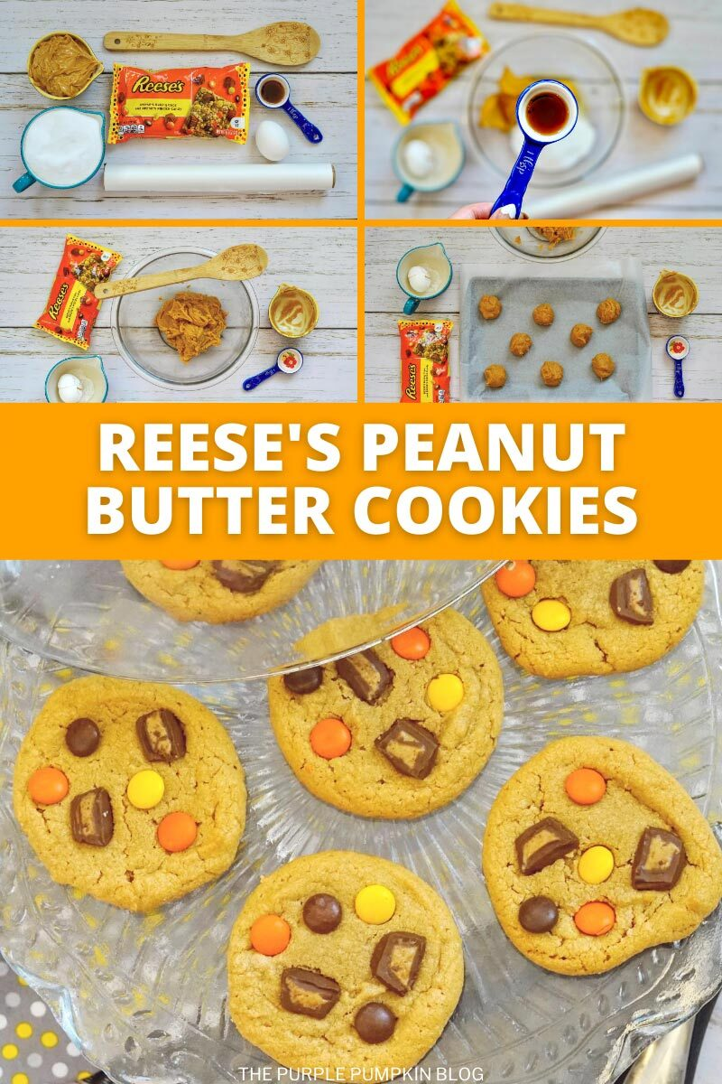 How to make Reese's Peanut Butter Cookies