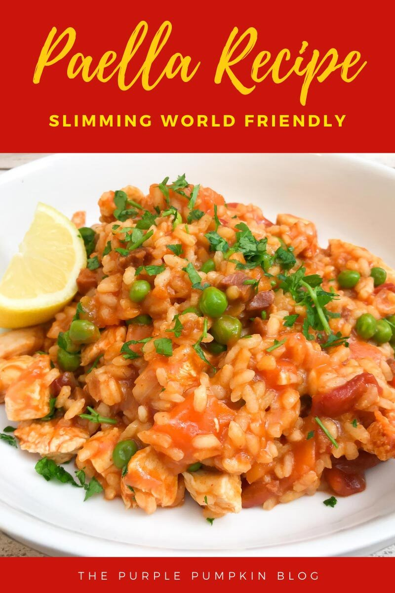 Paella Recipe Slimming World Friendly
