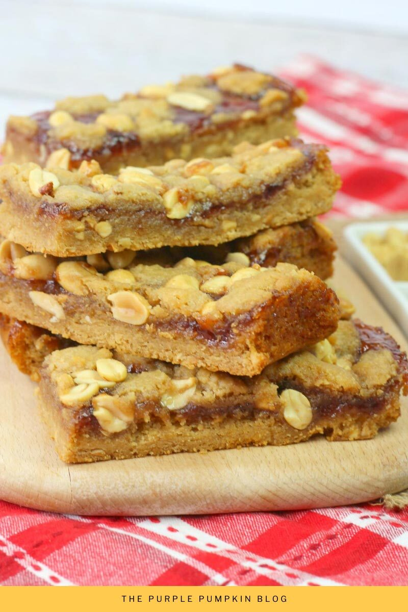 Peanut Butter Jelly Bars Recipe