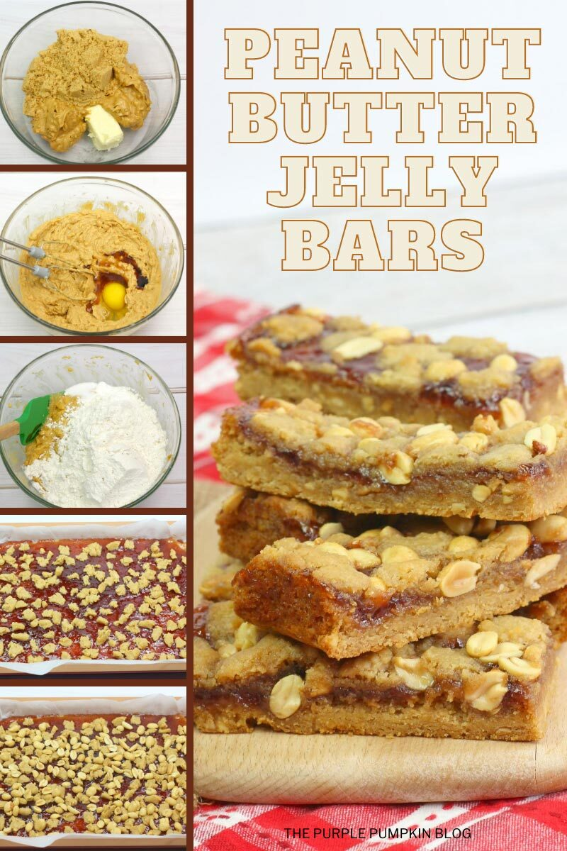 How to Make Peanut Butter Jelly Bars