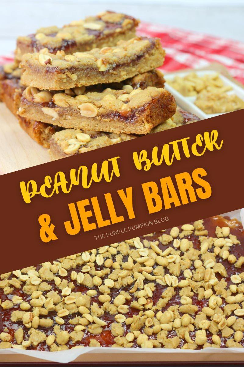 Peanut Butter & Jelly Bars Recipe