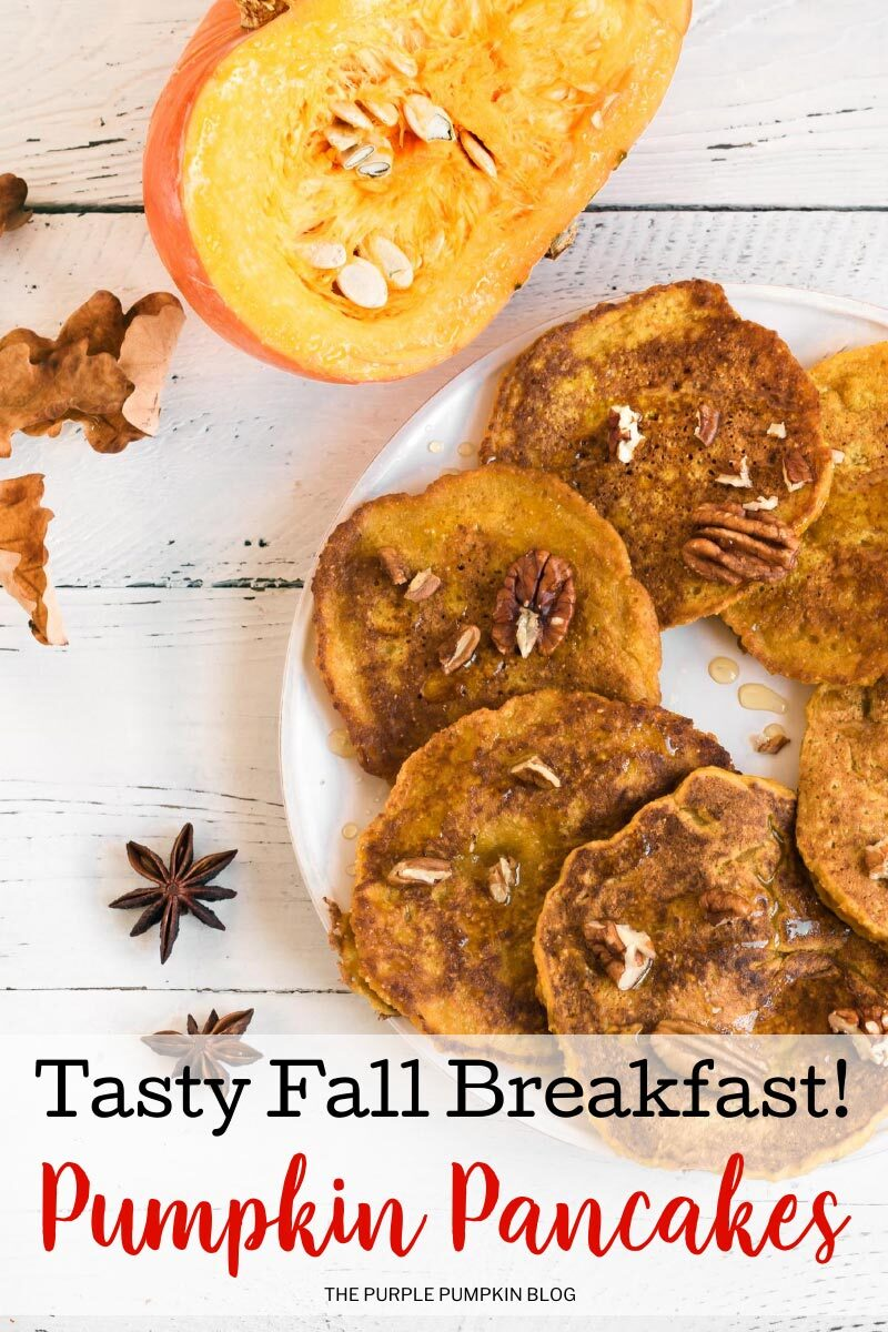 Pumpkin Pancakes - Tasty Fall Breakfast