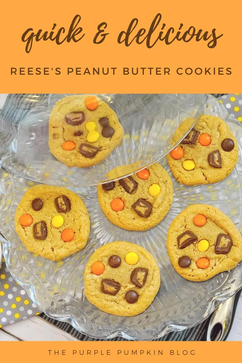 Quick & Delicious Reese's Peanut Butter Cookies