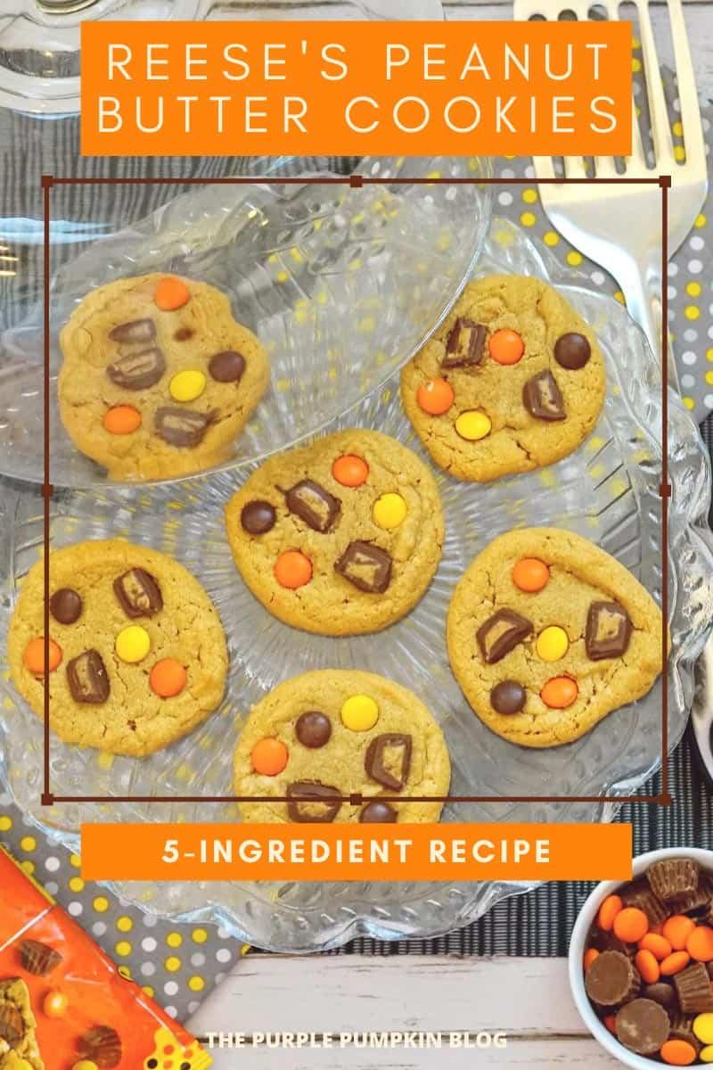 Reeses-Peanut-Butter-Cookies-5-Ingredient-Recipe