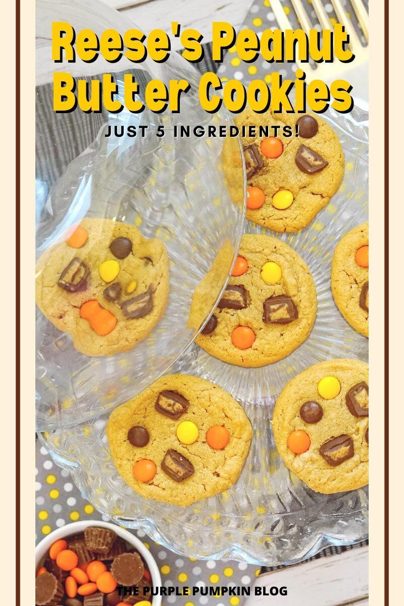 Reese's Peanut Butter Cookies - Just 5 Ingredients