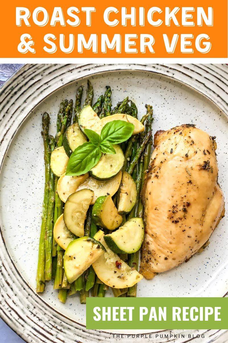 Roast Chicken & Summer Veg Sheet Pan Recipe