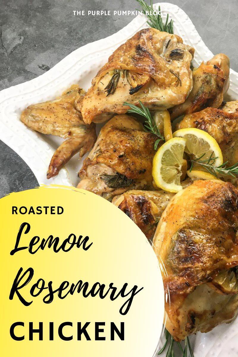 Roasted Lemon Rosemary Chicken Recipe
