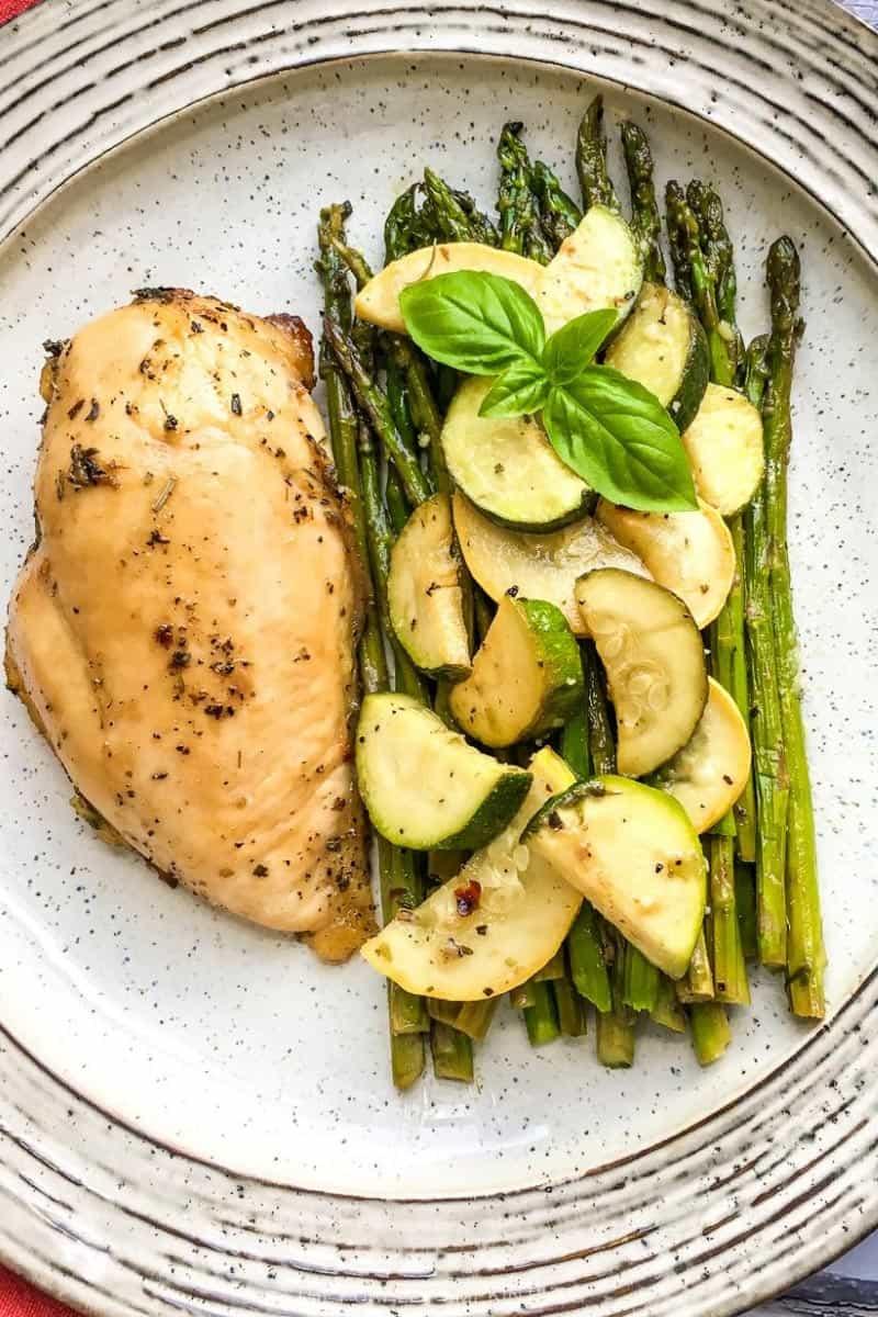 Sheet Pan Chicken & Summer Veggies