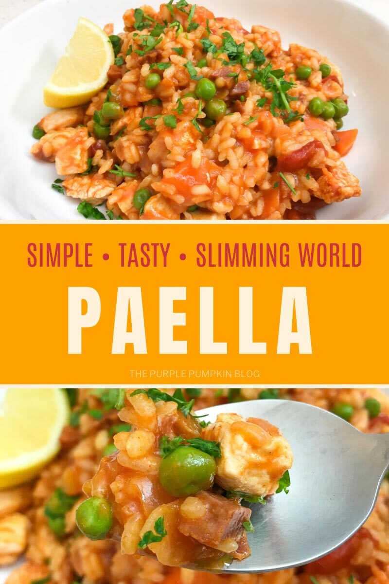 Simple, Tasty, Slimming World Paella
