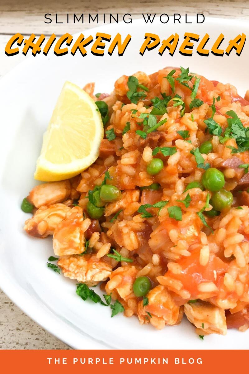 Slimming World Chicken Paella