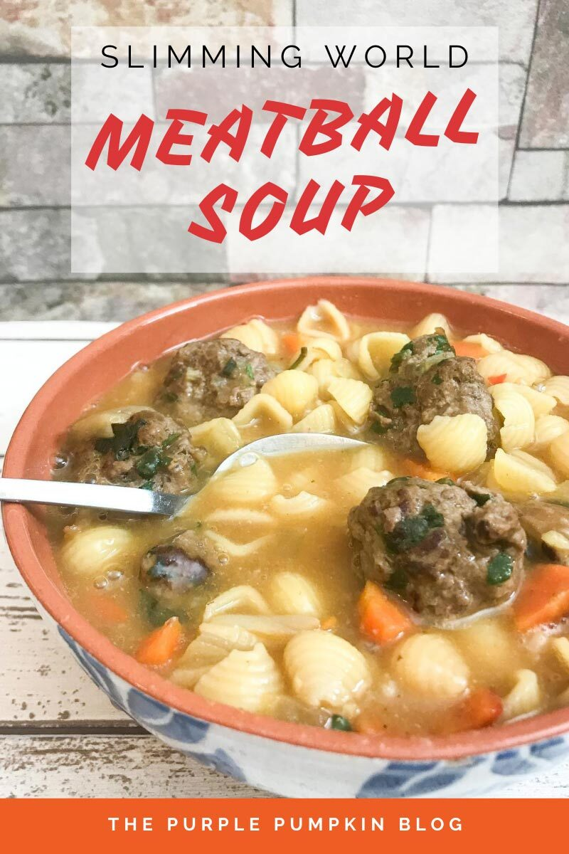 Slimming World Meatball Soup