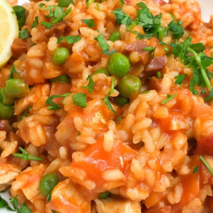 Slimming World Paella Recipe