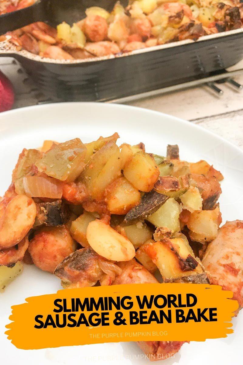 Slimming World Sausage & Bean Bake