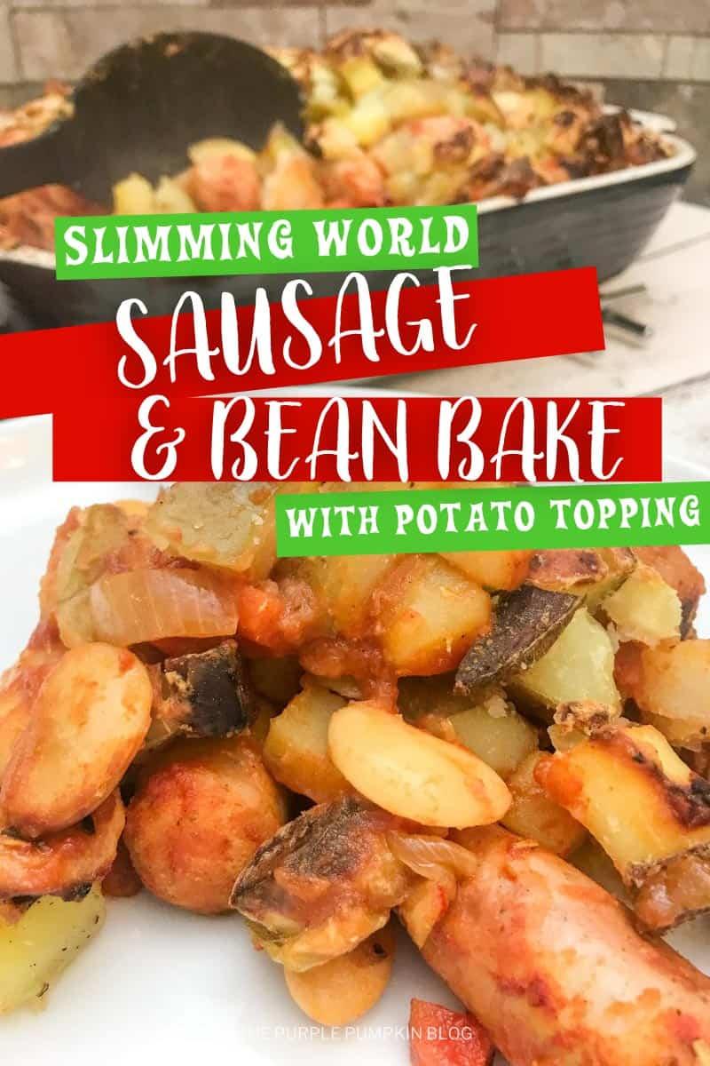 Slimming-World-Sausage-Bean-Bake-with-Potato-Topping