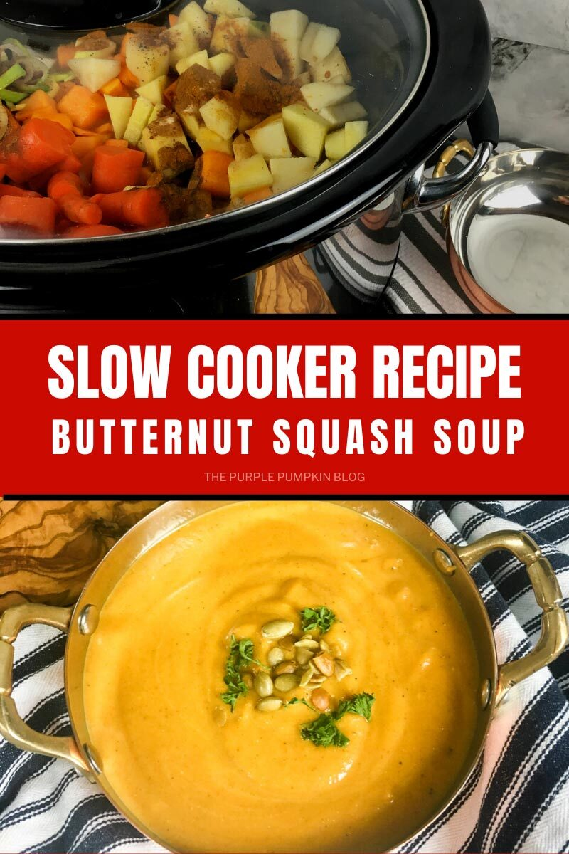 Slow Cooker Recipe for Butternut Squash Soup