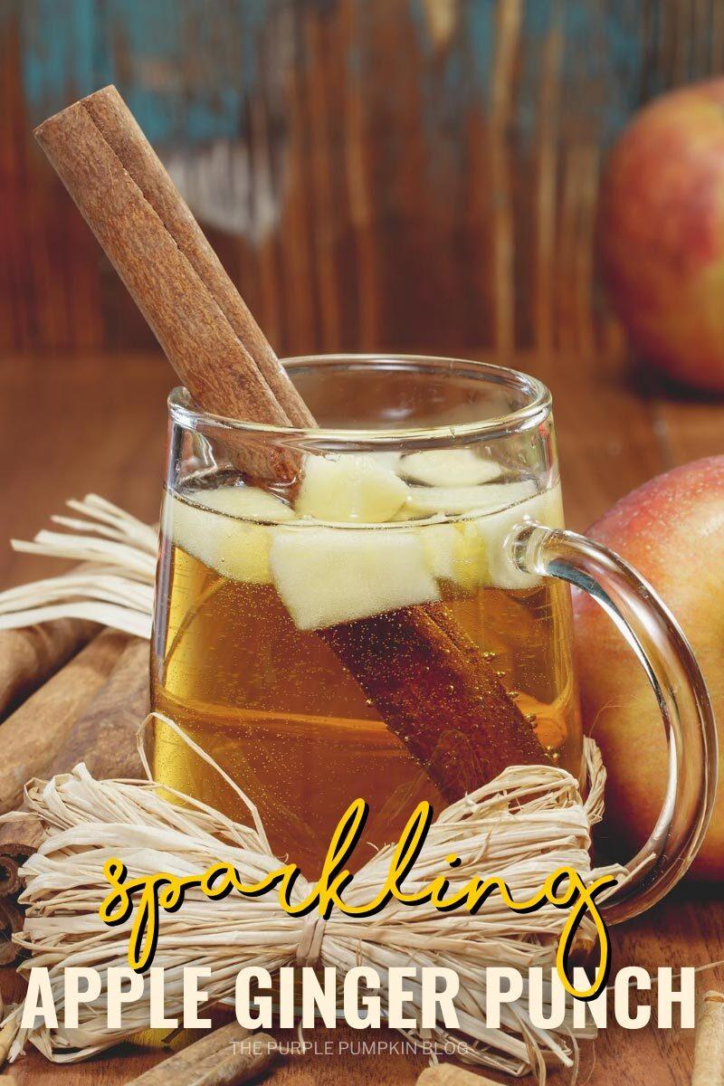 Sparkling Apple Ginger Punch