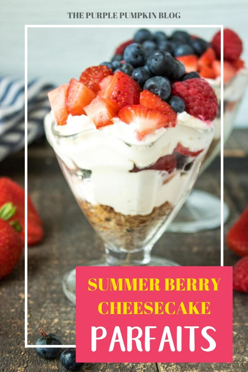 Summer Berry Cheesecake Parfaits