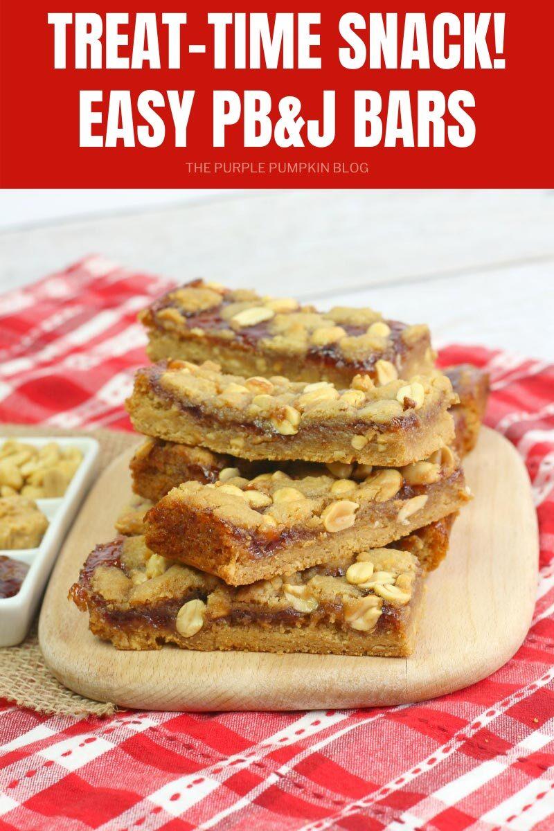 Treat Time Snack - Easy PB & J Bars