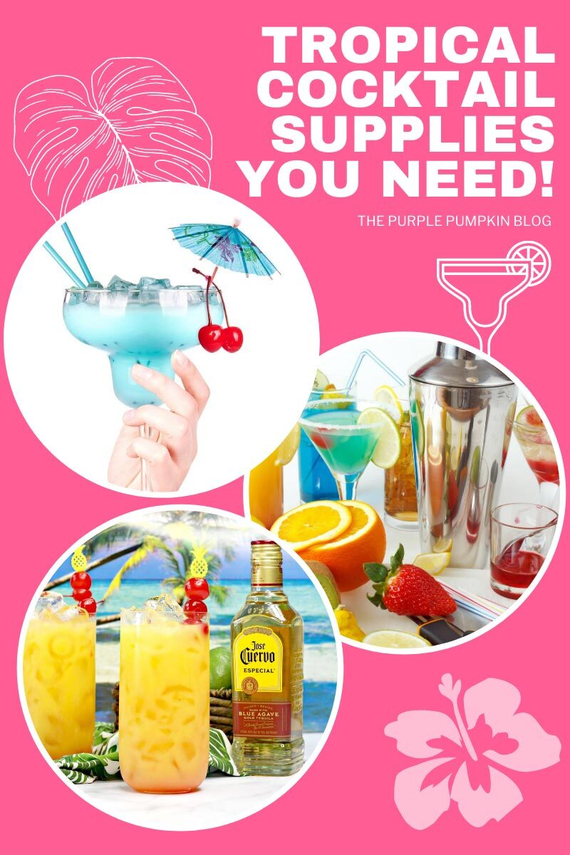 The BEST Hawaiian Margarita Cocktail Supplies