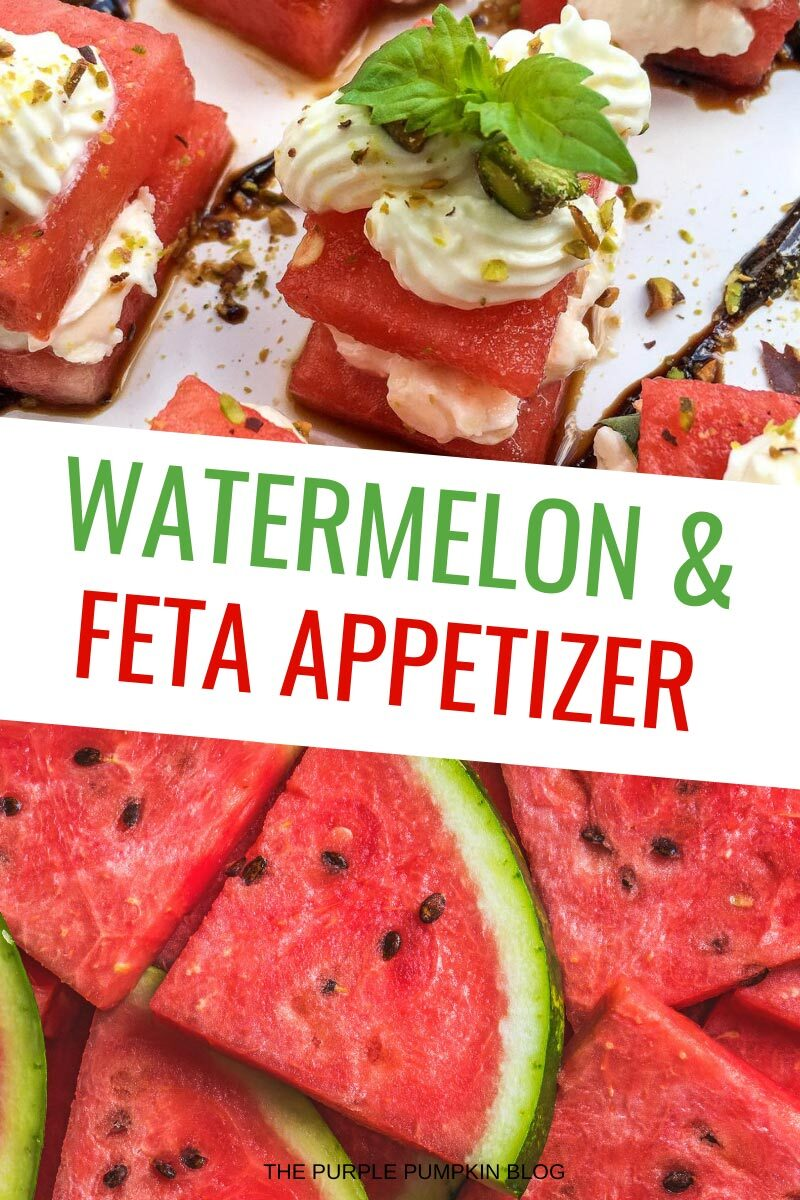 Watermelon & Feta Appetizer