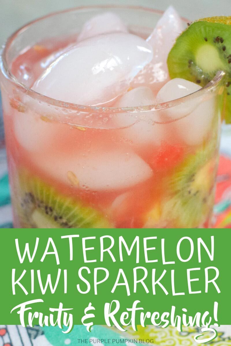 Watermelon Kiwi Sparkler Fruity & Refreshing