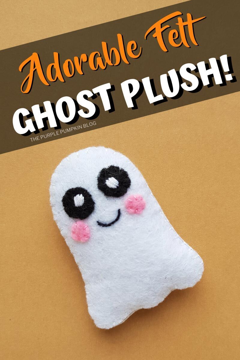 Adorable Felt Ghost Plush