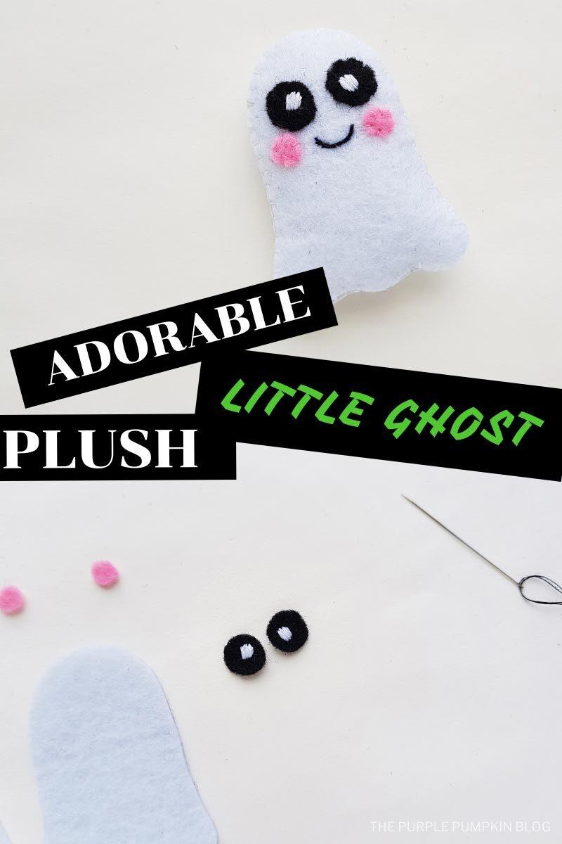 Adorable Little Ghost Plush