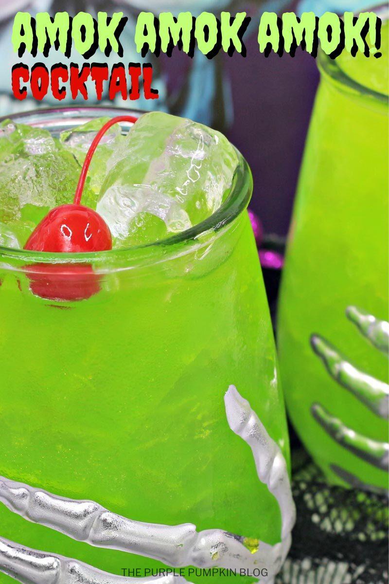 Amok Amok Amok Cocktail