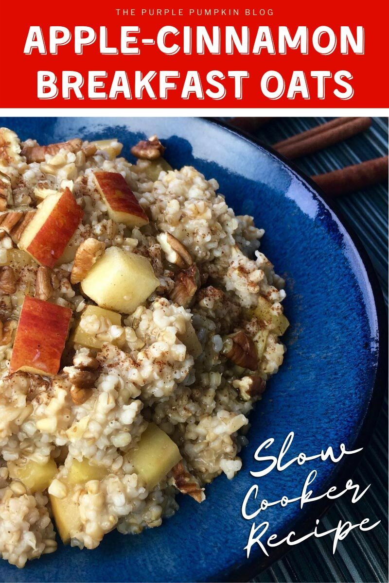 Apple-Cinnamon Breakfast Oats