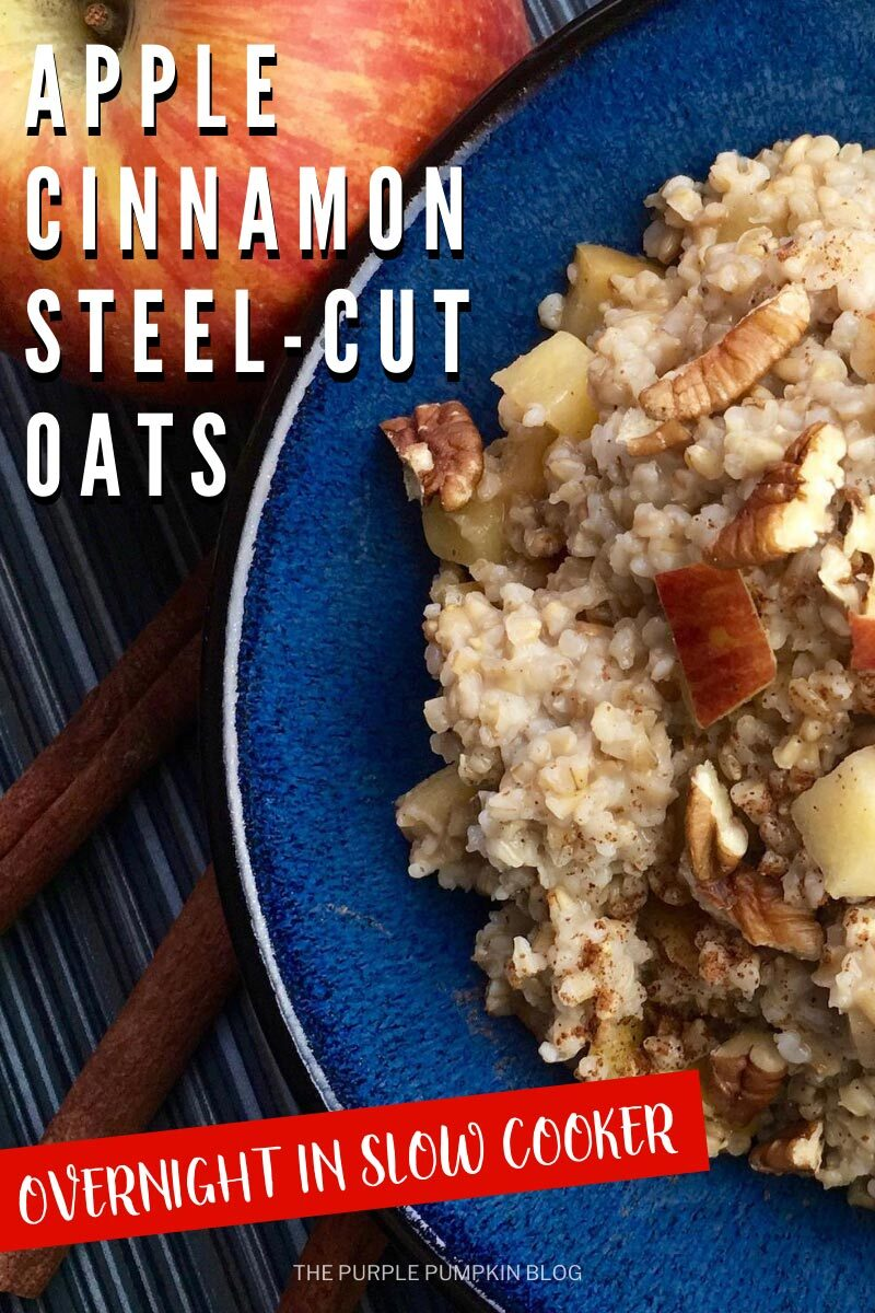 Apple Cinnamon Steel-Cut Oats
