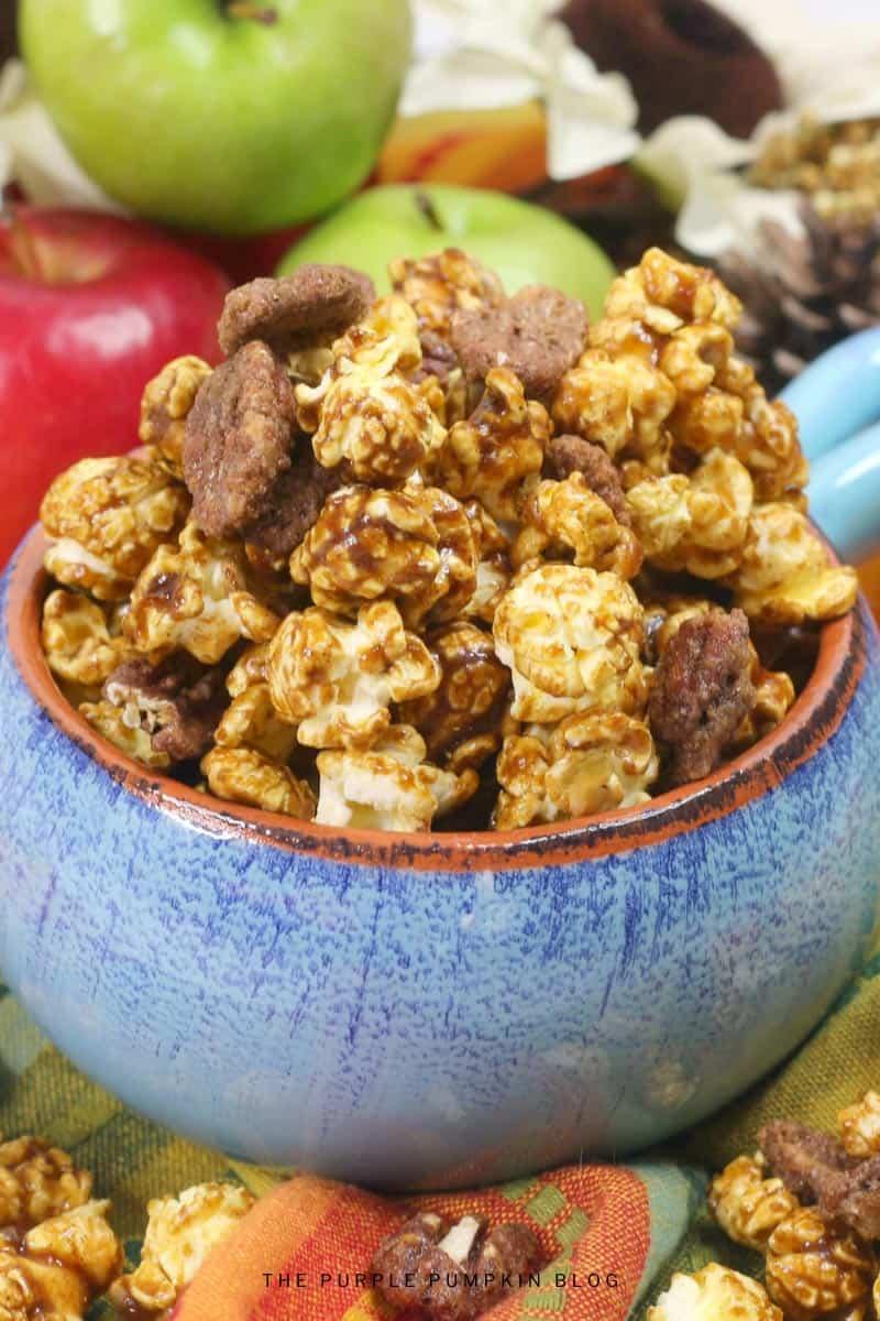 Apple Pie Spice Bourbon Popcorn