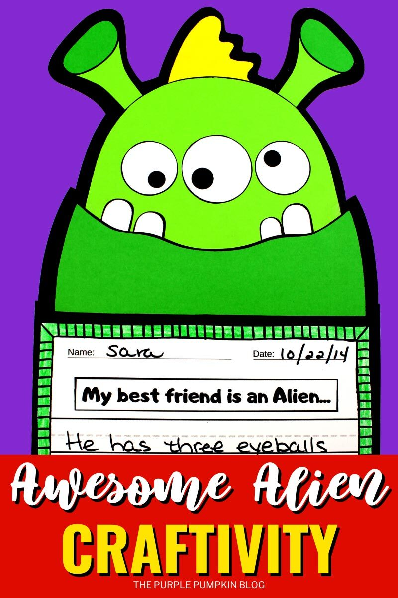 Awesome Alien Craftivity